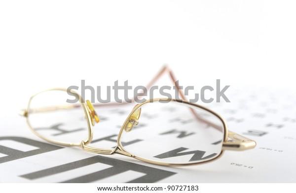 eyeglasses-on-ophthalmologic-scale-shall