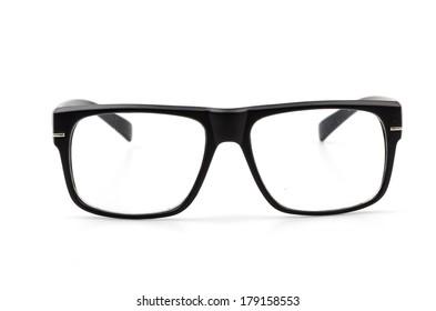 eyeglassses isolated white background