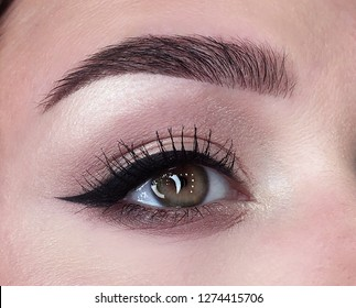 eyeliner green eye make up
