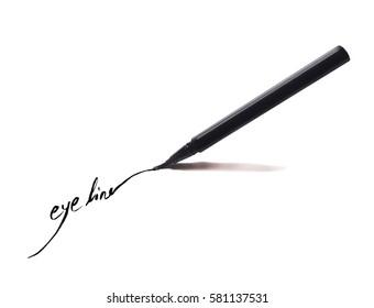 Eyeliner on paper