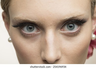 Eyes of the beautiful woman
