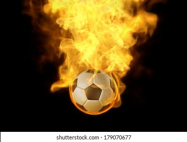 Eyes catching your layout with fire burn on soccer ball, It's very interesting to highlight your jobs.