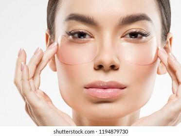 Eyes mask beauty woman face