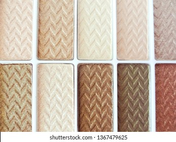 Eyeshadow Palette Close Up Neutral Skin Tones