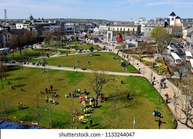 Eyre Square, Galway City, Ireland