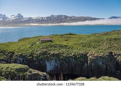 Borgarfjörður Eystri Harbor Peninsula, Iceland - puffin sanctuary