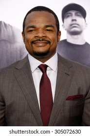 F. Gary Gray at the Los Angeles premiere of 'Straight Outta Compton' held at the Microsoft Theatre in Los Angeles, USA on August 10, 2015.