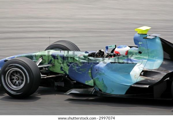 F1 2007 Honda driver Rueben