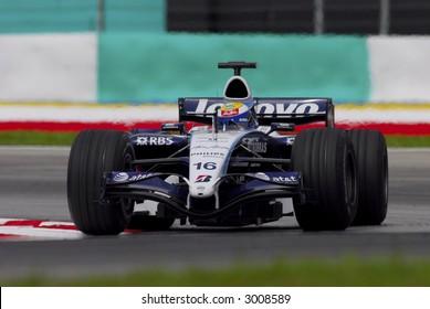 F1 Driver, Nico Rosberg, Williams F1 Team 2007