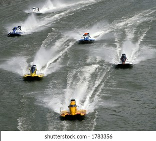 F1 powerboat race