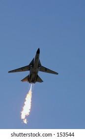 F1-11 doing a dump and burn...