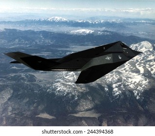 F-117A Nighthawk was the first operational aircraft designed to exploit low-observable stealth technology. Introduced in 1983 it remained top secret until 1988.