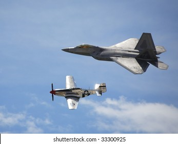 F22 and P51 2
