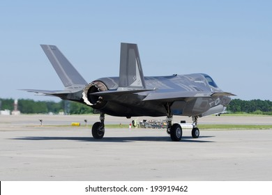 F-35 Lightning II Aircraft getting ready to take off