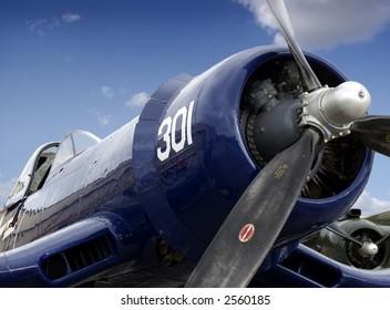 F4U aircraft