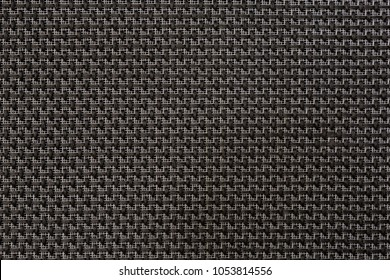 fabric acoustic mesh for speaker amplifier protection. Close up