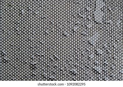 fabric artificial texture after rain