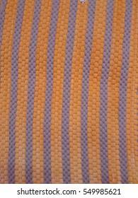 fabric background, orange color