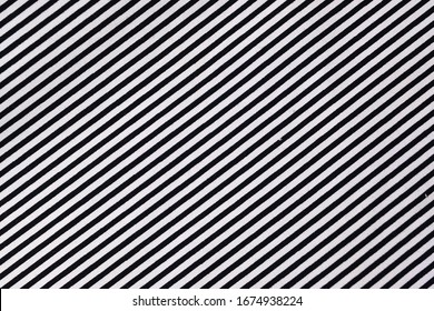 fabric black and white stripe diagonal pattern modern style of fashion trendy cloth texture background