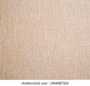 fabric burlap textil background close up