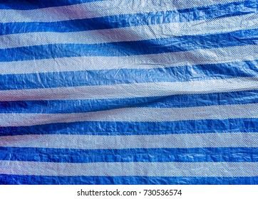 Fabric and Canvas and Plastic cloth  / surface and texture / black and white background /abstract color textured