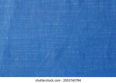 Fabric cloth background texture. Seamless light blue grey naturel cotton textile background. Very detailed. Linen pattern