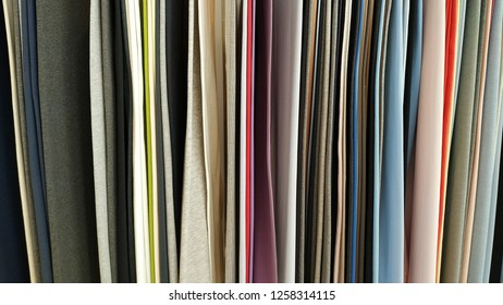 Fabric colorful backdrop texture hanger