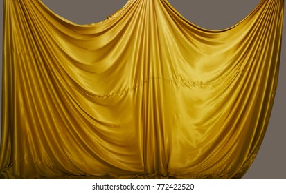 fabric draping isolated