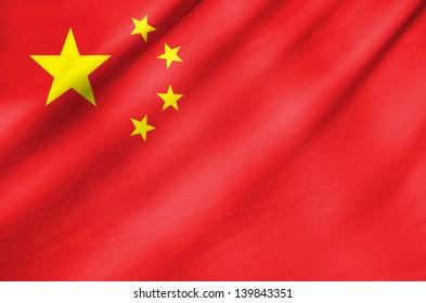 Fabric Flag of China