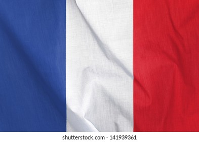 Fabric Flag of France