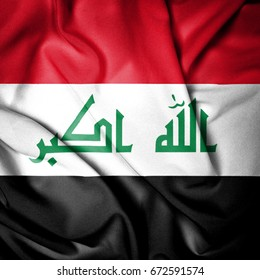 Fabric Flag of Iraq