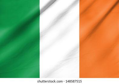 Fabric Flag of Ireland