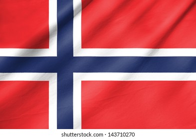 Fabric Flag of Norway