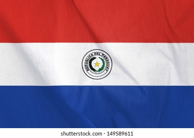 Fabric Flag of Paraguay