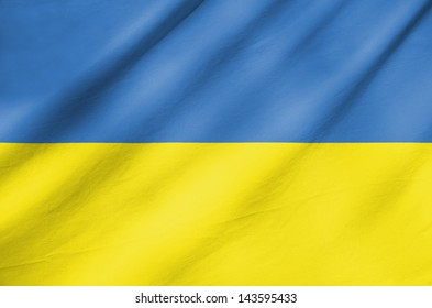Fabric Flag of Ukraine
