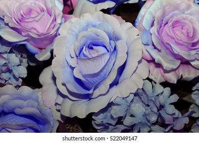 fabric flower background