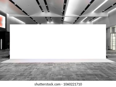 Fabric Pop Up basic unit Advertising banner media display backdrop, empty background - Shutterstock ID 1060221710