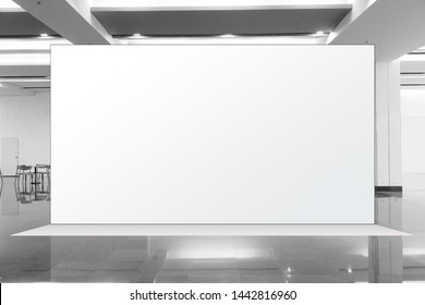 Fabric Pop Up basic unit Advertising banner media display backdrop, empty background, 16:9 Panoramic banner - Shutterstock ID 1442816960