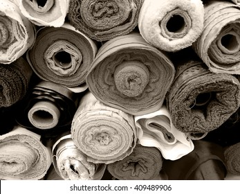 Fabric rolls background  38