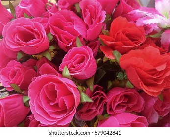fabric rose background