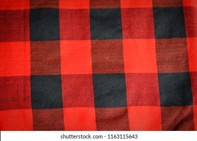 fabric scottish or loincloth pattern / red of loincloth thai style abstract background texture.