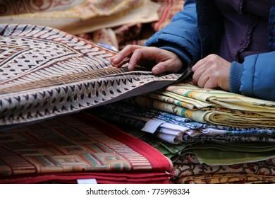 Fabric sheet blanket