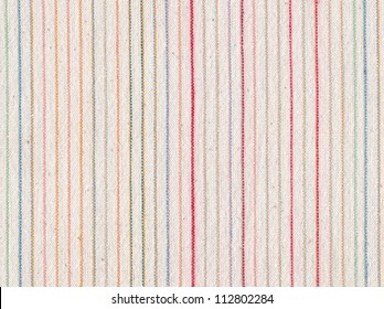 Fabric striped texture. Clothes background. Close up