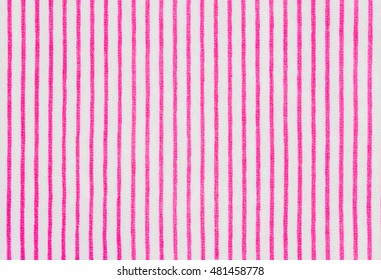 Fabric striped texture. Clothes background, Close up