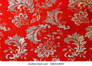 Fabric tableware texture