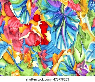 Fabric Textile Printing Design