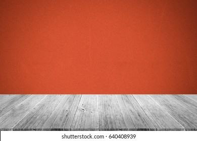 Fabric texture background surface natural color , process in vintage style with wood terrace