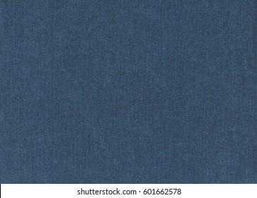 Fabric texture blue linen background
