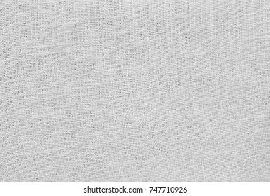 Fabric Texture, Close Up of White Cotton Texture Pattern Background with Copy Space for Text Decoration.