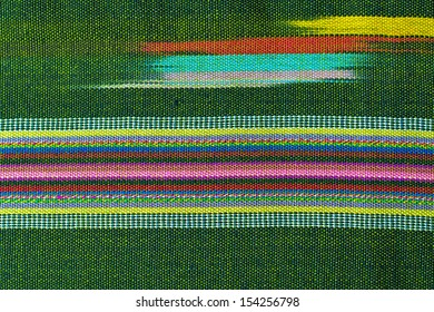 Fabric texture, cloth background, Thai style